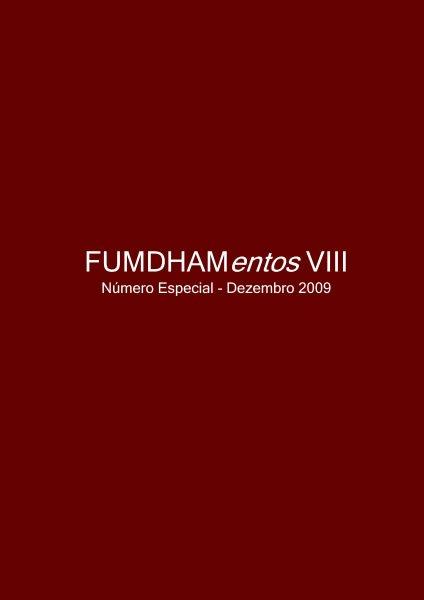 FUMDHAMENTOS VIII – 2009